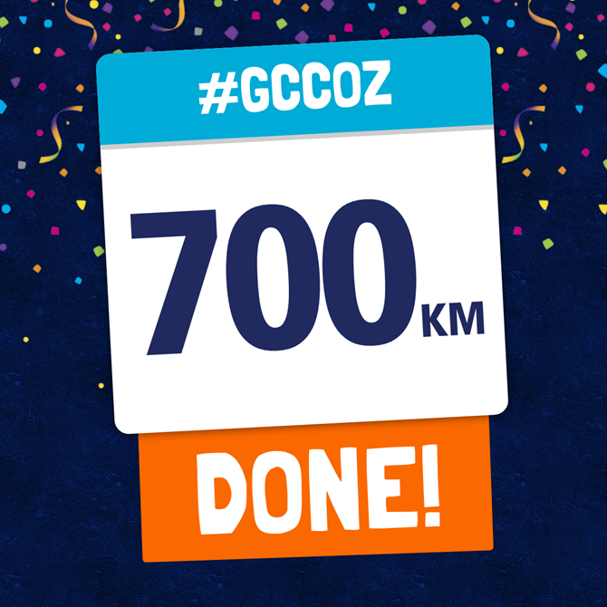 700Km + Completed