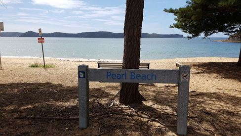 Pearl Beach, a lovely town, but...