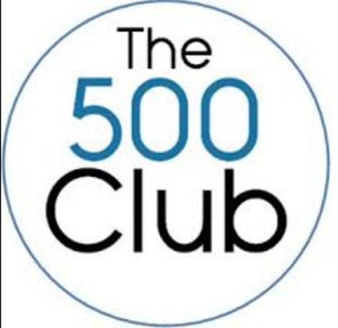 Well done to Toni Frost - another team member in the 500 Club