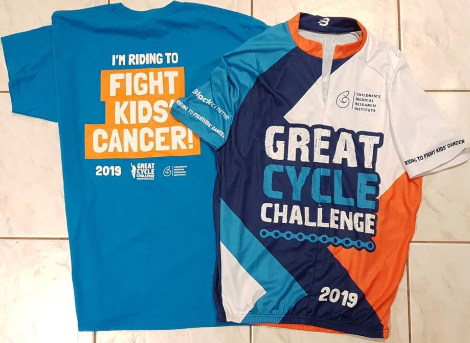Riding to fight kids' cancer