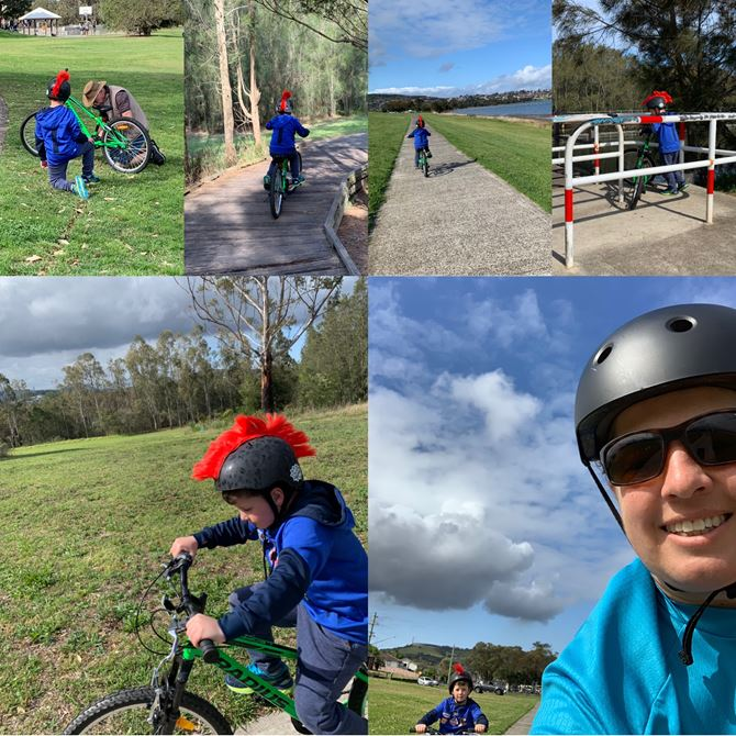 Day 5 - Lake Illawarra with Lachy