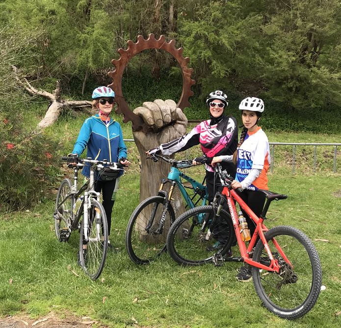 Warburton Rail Trail Group Ride