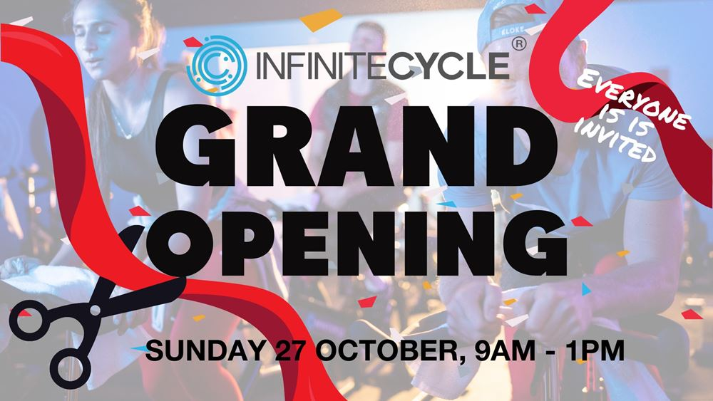 Grand Opening Infinite Cycle Mitchell