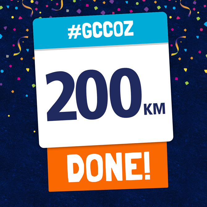First 200km Completed